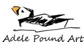 Adele Pound Art Logo